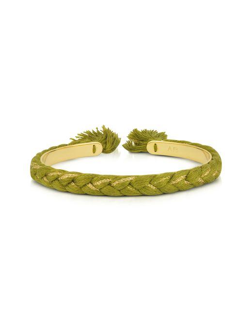 Aurelie Bidermann - Women's Green Steel Bracelet - Lyst