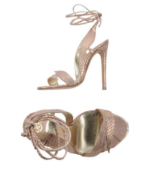 Gina | Pink Sandals | Lyst