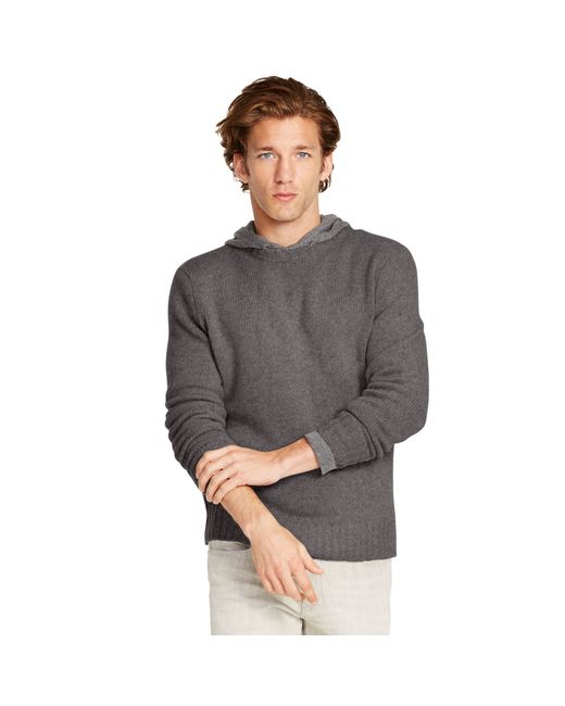 Polo Ralph Lauren | Gray Cashmere Crewneck Sweater for Men | Lyst