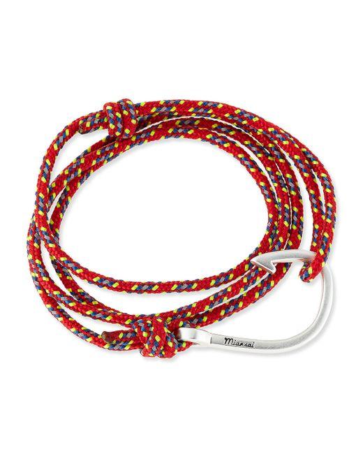 Miansai | Red Hook Rope Bracelet | Lyst