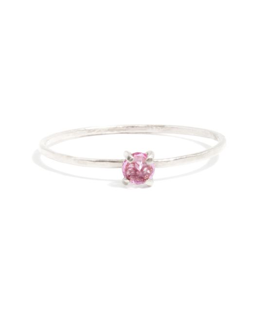 Melissa Joy Manning | Pink Prong Set Garnet Ring | Lyst