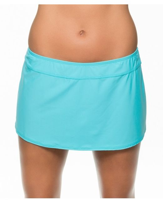 athena finesse a line swim skirt in blue aqua lyst
