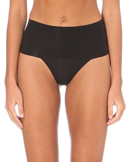 Spanx | Black Undie-tectable Thong | Lyst