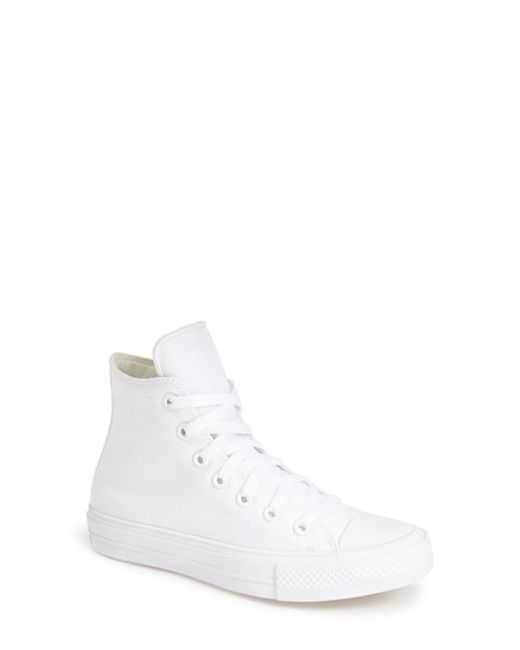 Converse | White Chuck Taylor All Star 'chuck Ii' High Top Sneaker | Lyst