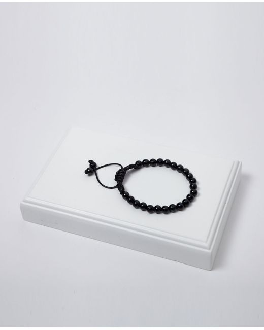 Vitaly | Stratos Beaded Bracelet In Black for Men | Lyst