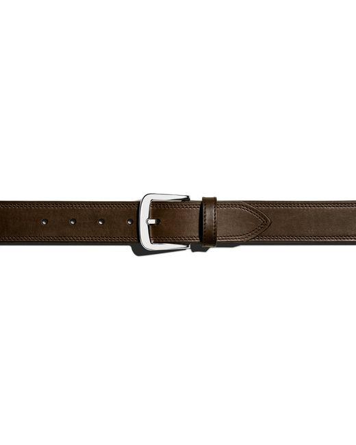Shinola | Brown Double Stitch Belt for Men | Lyst