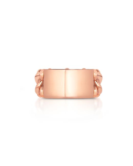 Carbon & Hyde | Pink Id Link Ring | Lyst