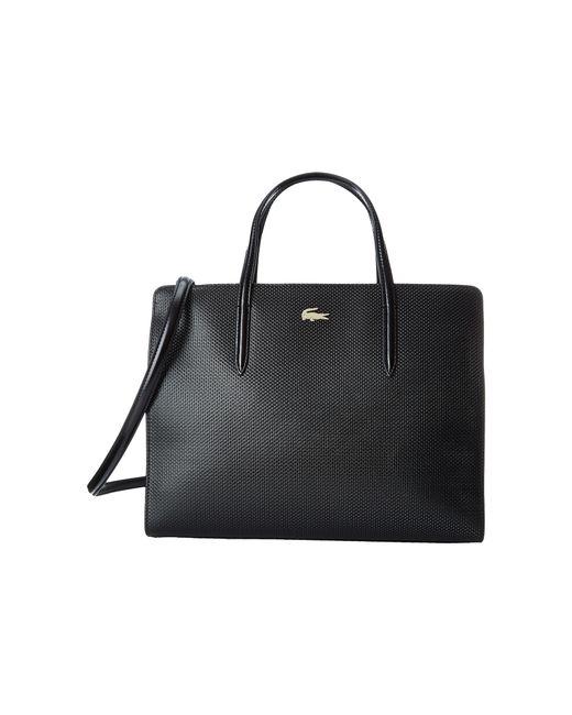 Lacoste   Black Chantaco Shopping Bag   Lyst