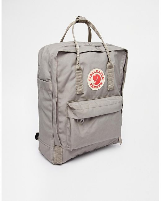 fjallraven kanken backpack grey