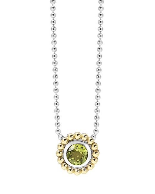 Lagos | Green Stone Pendant Necklace | Lyst