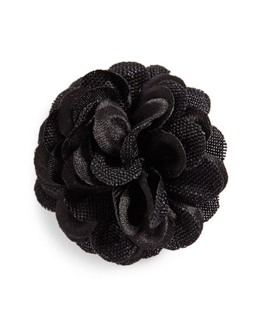 Hook + Albert | Black Floral Lapel | Lyst