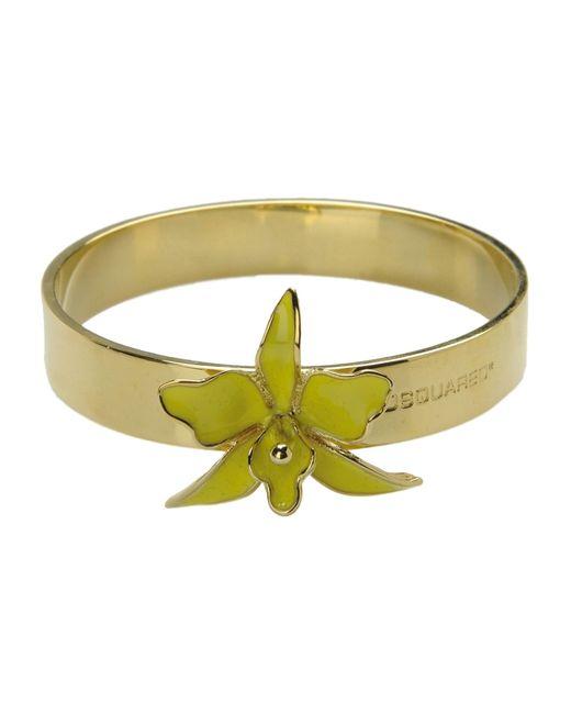 DSquared²   Yellow Bracelet   Lyst