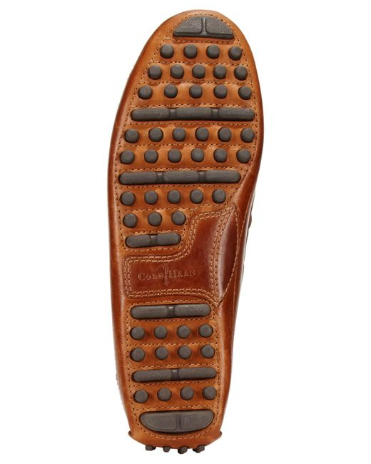 Cole Haan | Orange Men's Grant Canoe Drivers for Men | Lyst