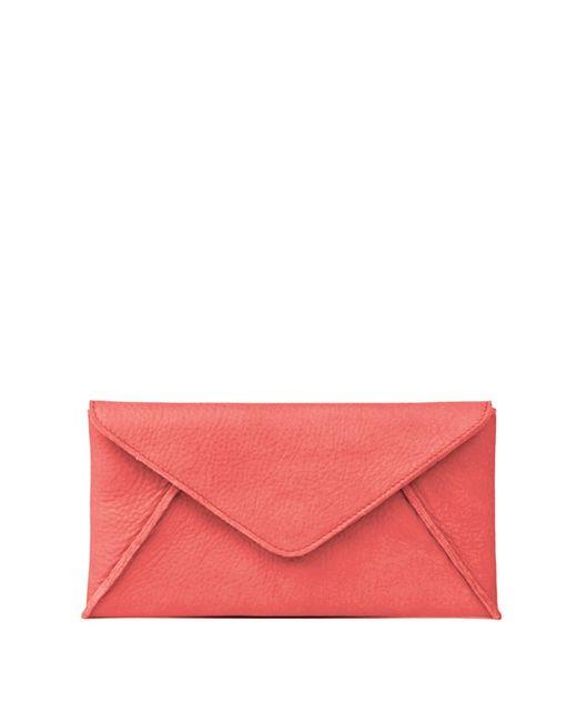 Linea Pelle | Red Hunter Wallet | Lyst