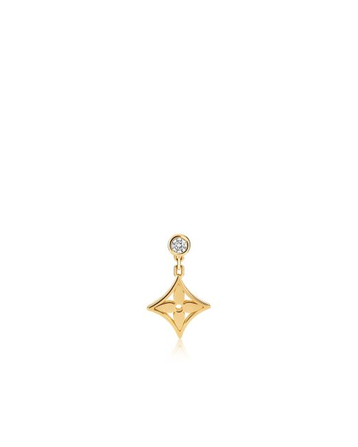 Louis Vuitton | Idylle Blossom Ear Stud, Yellow Gold And Diamond | Lyst