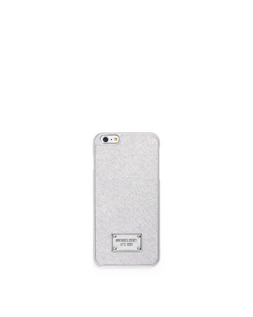Michael Kors   Metallic Leather Smartphone Case   Lyst