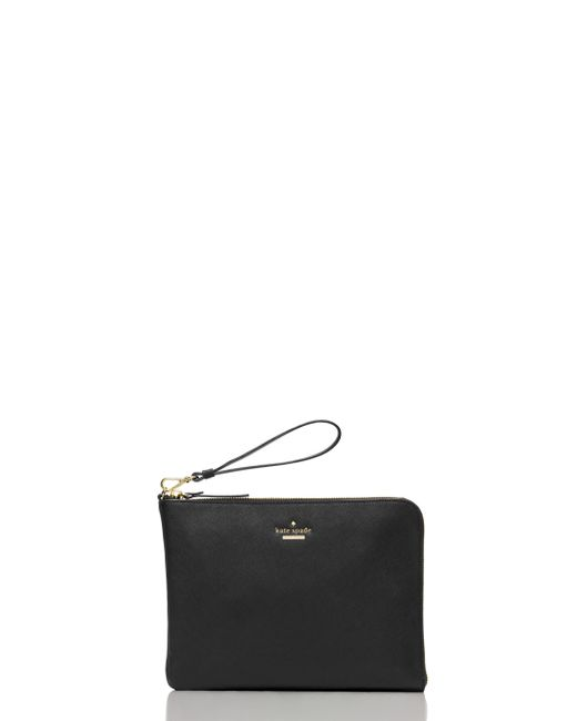 kate spade new york | Black Everpurse X Quentin Wristlet Pouch | Lyst