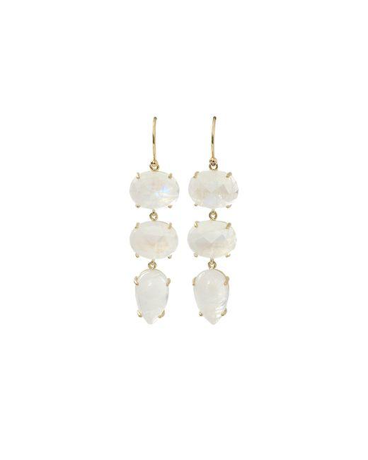 Irene Neuwirth | Metallic Moonstone Drop Earrings | Lyst