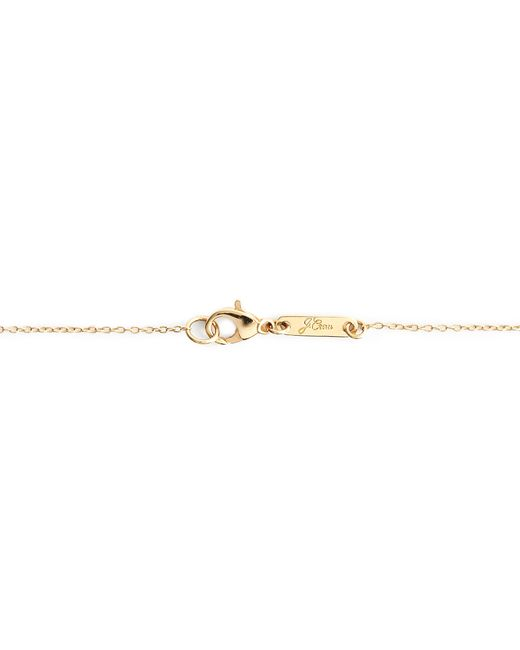 """J.Crew   Metallic 14k Gold Heart Charm Necklace With 18 1/2"""" Chain   Lyst"""