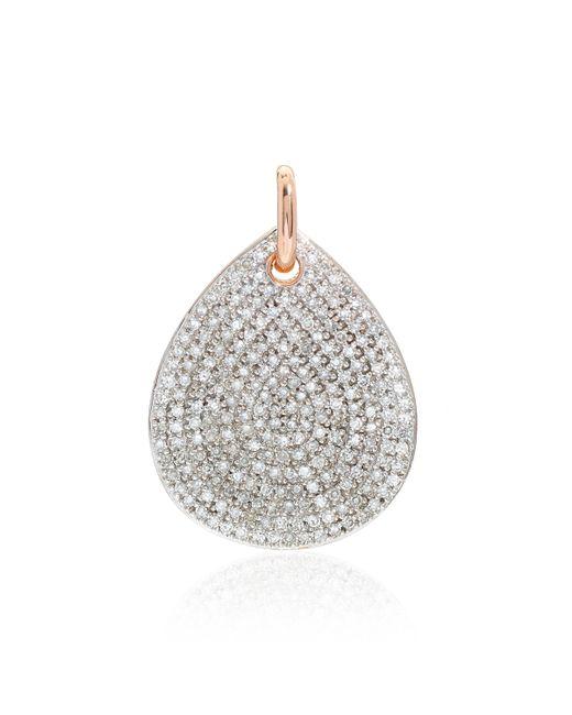 Monica Vinader | Pink Alma Pendant Diamond | Lyst