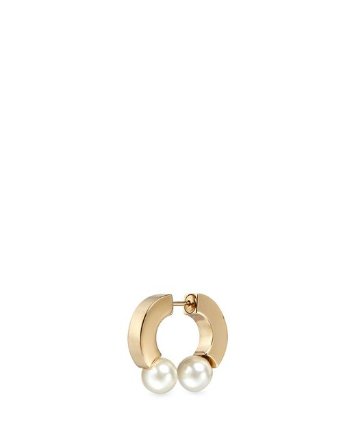 Chloé | Multicolor Gold Pearl Darcey Single Earring | Lyst