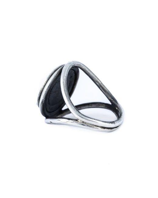 Ann Demeulemeester | Metallic Large Signet Ring for Men | Lyst