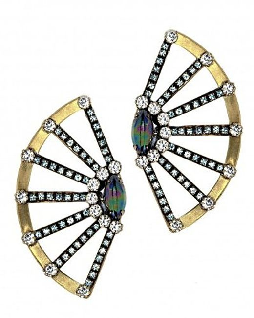 Nicole Romano | Metallic Jun Earrings | Lyst