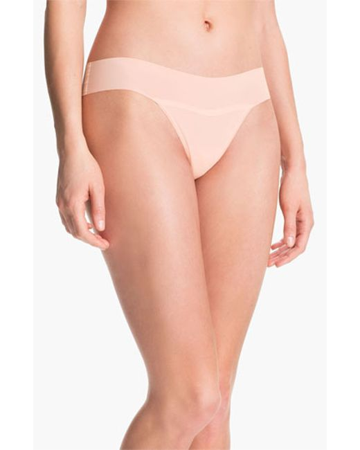 Hanky Panky | White 'bare - Eve' Natural Rise Thong | Lyst