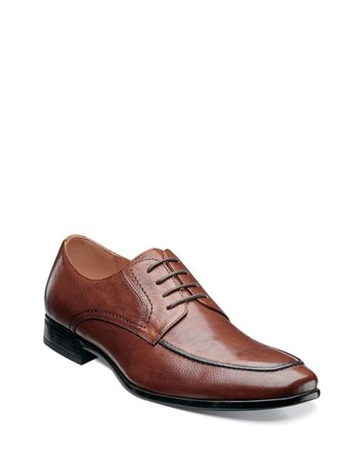 Florsheim | Brown 'burbank' Apron Toe Derby for Men | Lyst