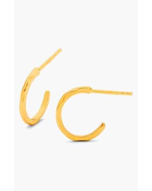 Gorjana | Metallic 'taner' Mini Hoop Earrings | Lyst