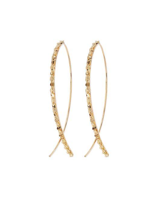 Lana Jewelry | Metallic 14k Glam Small Hook-on Hoop Earrings | Lyst