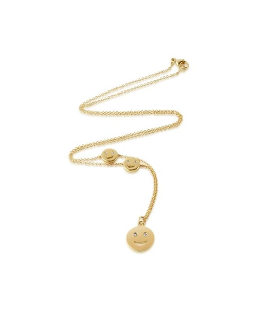 Alison Lou | Yellow Super Happy Necklace | Lyst