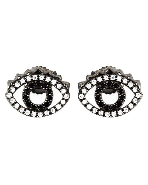 KENZO | Black 'eye' Earrings | Lyst