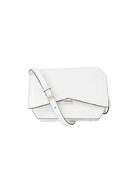 Givenchy | White Bow-Cut Lizard Shoulder Bag | Lyst