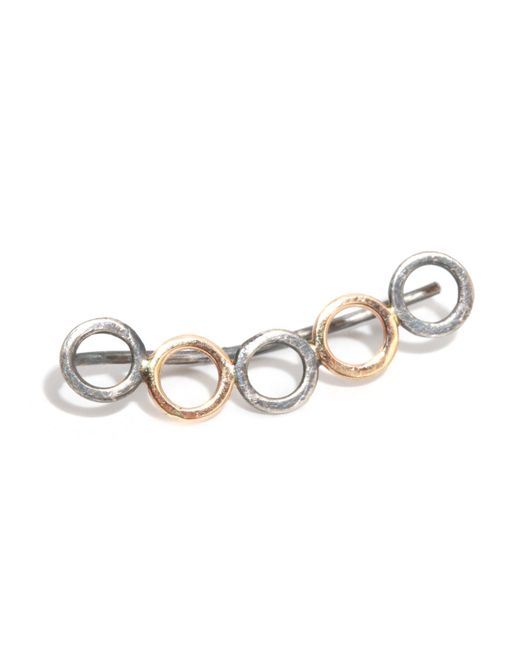 Melissa Joy Manning | Metallic Open Circle Ear Climber | Lyst