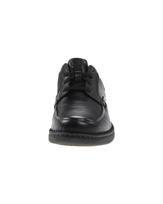 Dunham | Black Revcandor Moc Toe Oxford for Men | Lyst