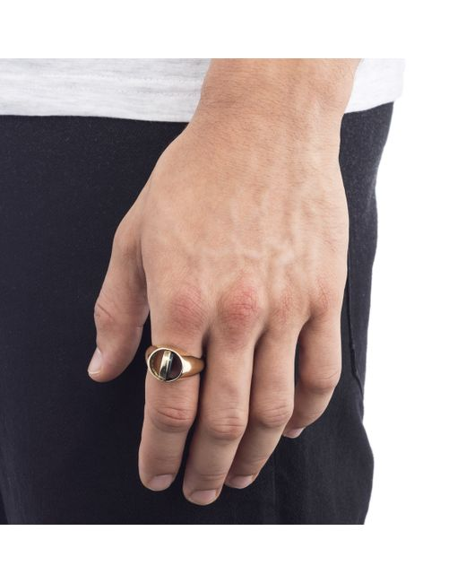 Lulu Frost | Metallic George Frost Poison Ring - Justice for Men | Lyst