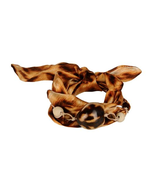 Roberto Cavalli | Brown Bracelet | Lyst