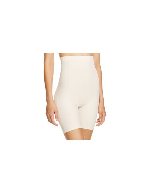 Yummie By Heather Thomson | Natural Florence High-waist Shorts #yt2-227 | Lyst