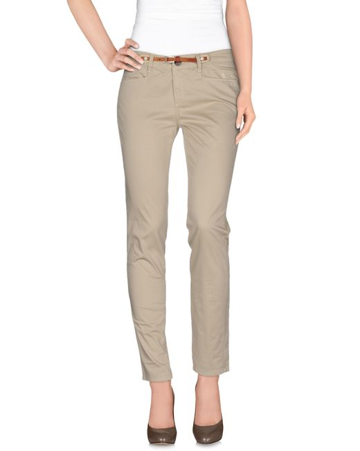 Jeckerson | Natural Casual Pants | Lyst