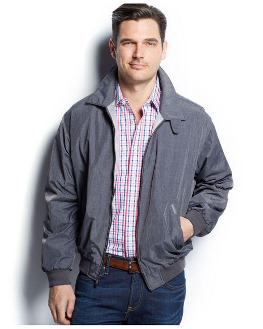 Weatherproof   Gray Microfiber Bomber Jacket for Men   Lyst