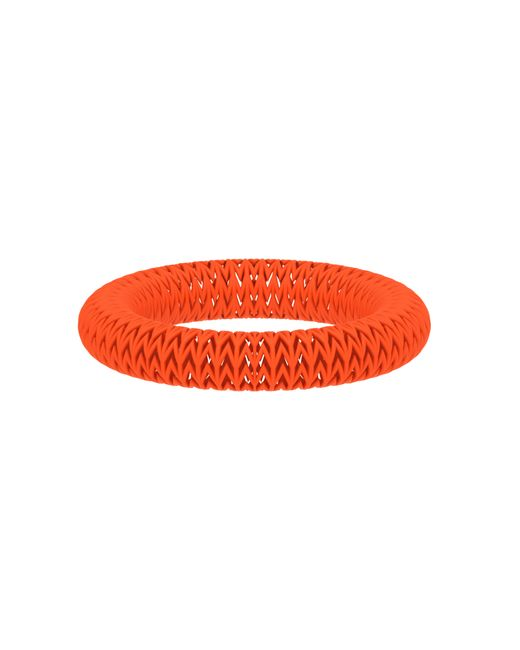 Vojd Studios | Orange Chevron Bangle | Lyst