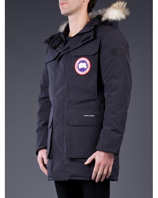 Canada Goose kensington parka outlet fake - Canada goose Citadel Parka in Blue for Men (navy)   Lyst