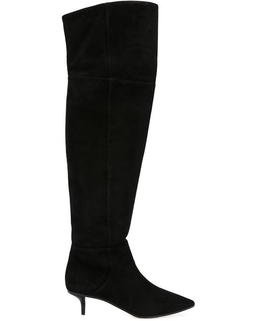 Jimmy Choo | Black Manson 50 Boots | Lyst