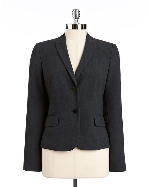 Calvin Klein | Black Two Button Blazer | Lyst