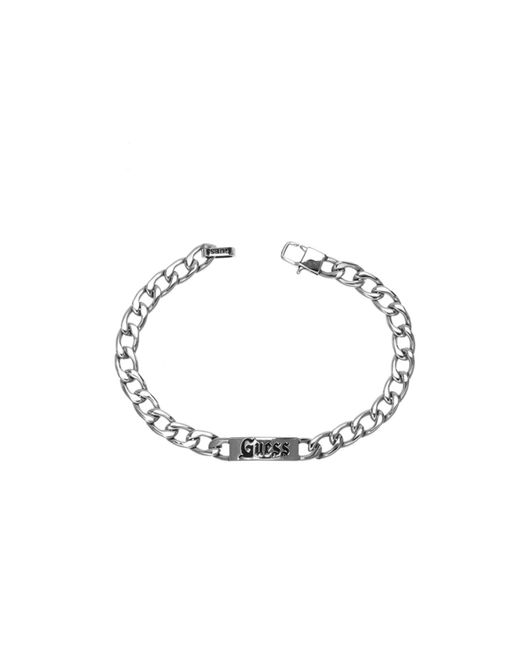 Guess | Metallic Unchained Steel Bracelet for Men | Lyst