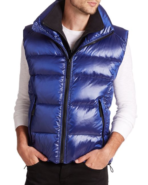 Sam. | Blue Racer Vest for Men | Lyst