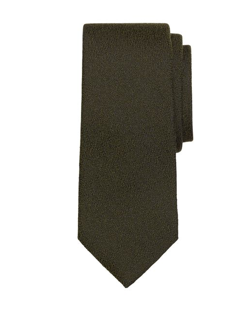 Brooks Brothers | Green Textured Solid Tie for Men | Lyst