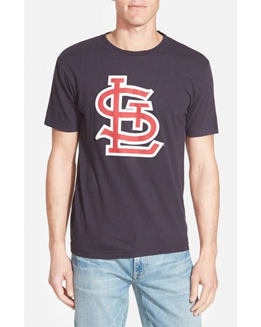 Wright ditson 39 st louis cardinals metro 39 graphic for St louis t shirt printing