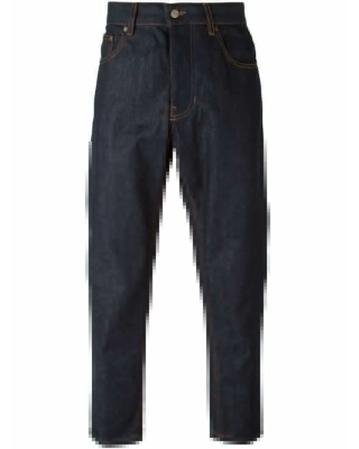 Ami Carrot Fit Jeans in Blue for Men  Save 60%  Lyst